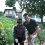 My man Joseph and me, at Kilema Hospital, Tanzania (2007?)